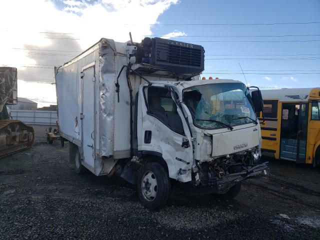 Salvage cars for sale from Copart Eugene, OR: 2017 Isuzu NQR