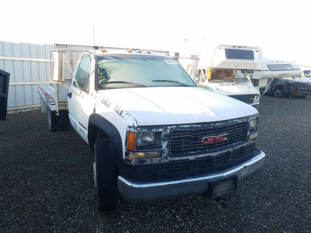 Salvage cars for sale from Copart Anderson, CA: 1997 GMC Sierra C35