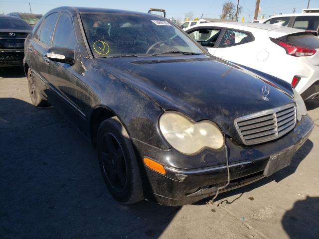 Mercedes-Benz salvage cars for sale: 2001 Mercedes-Benz C 320