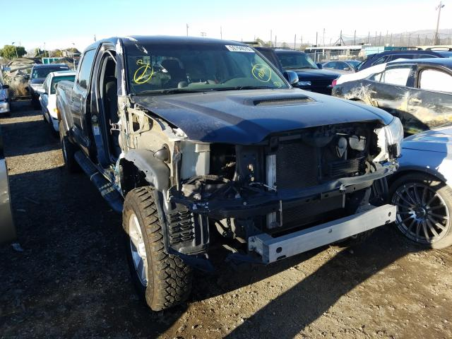Salvage cars for sale from Copart San Martin, CA: 2015 Toyota Tacoma DOU