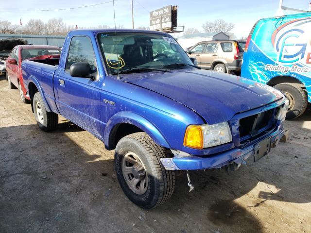 Vehiculos salvage en venta de Copart Wichita, KS: 2005 Ford Ranger