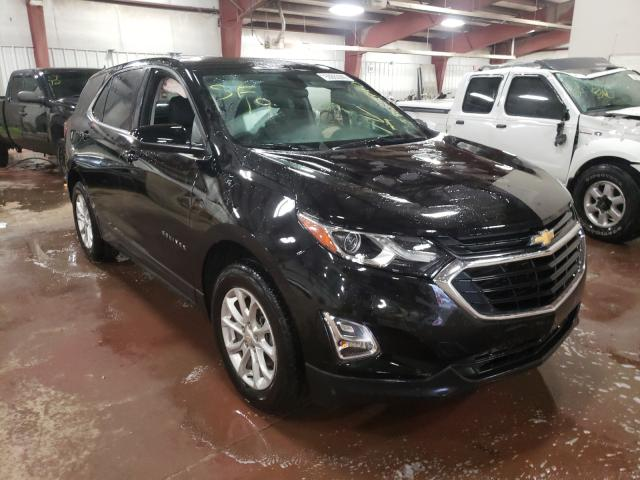 Salvage cars for sale at Lansing, MI auction: 2019 Chevrolet Equinox LT