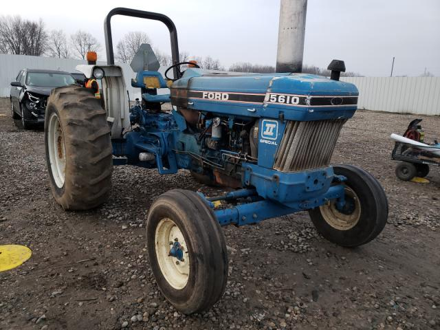 New Holland salvage cars for sale: 1990 New Holland Tractor