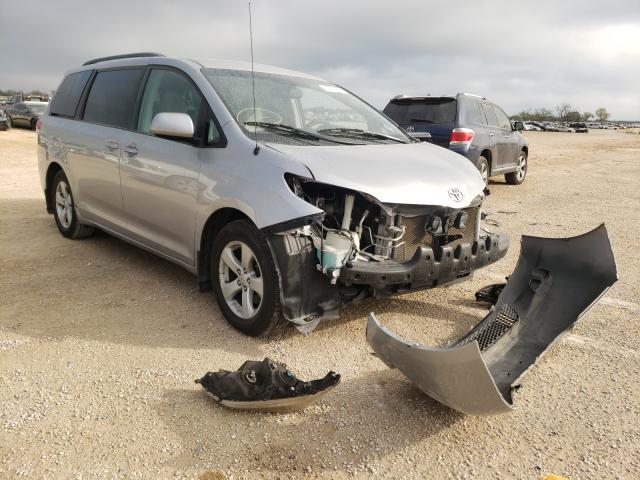 Salvage cars for sale from Copart San Antonio, TX: 2012 Toyota Sienna LE