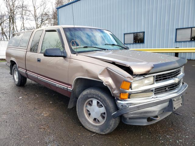 Chevrolet Suburban salvage cars for sale: 1997 Chevrolet Suburban