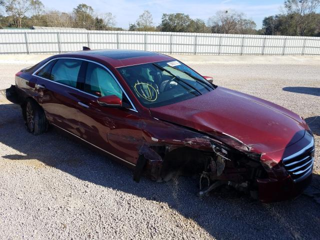 Cadillac salvage cars for sale: 2016 Cadillac CT6 Luxury