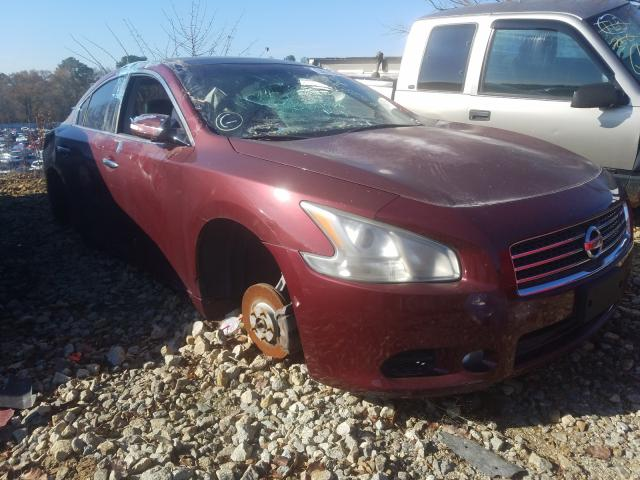Salvage cars for sale from Copart Austell, GA: 2010 Nissan Maxima S