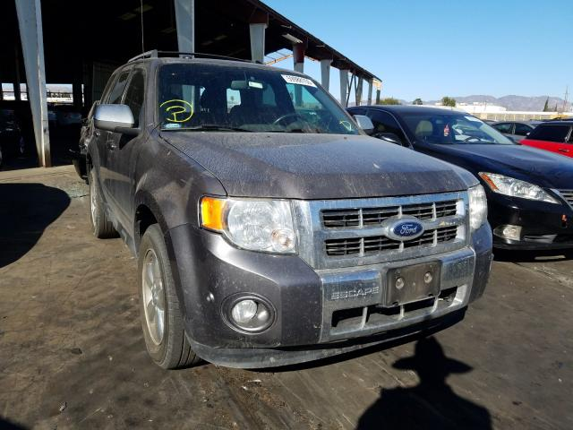 Salvage cars for sale from Copart Van Nuys, CA: 2012 Ford Escape LIM