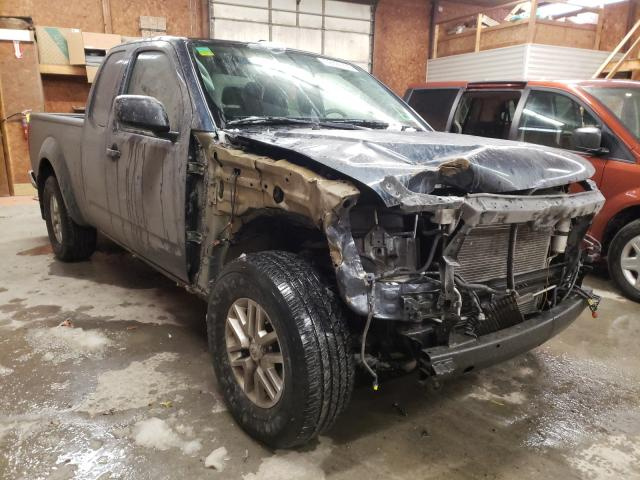 Salvage cars for sale from Copart Ebensburg, PA: 2017 Nissan Frontier S