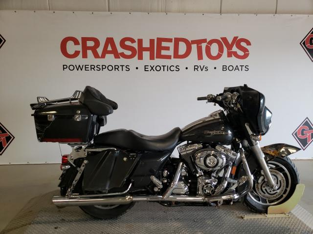 Salvage cars for sale from Copart Sikeston, MO: 2007 Harley-Davidson Flhx