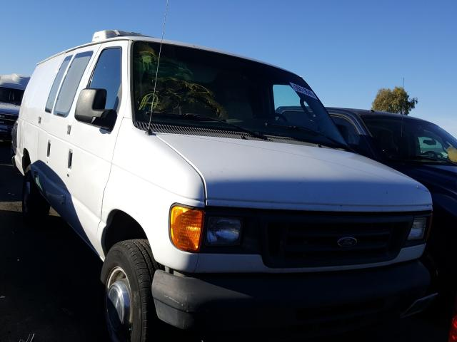 Salvage cars for sale from Copart Martinez, CA: 2004 Ford Econoline