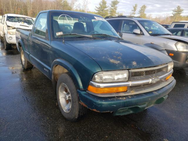 Salvage cars for sale from Copart Exeter, RI: 1998 Chevrolet S Truck S1