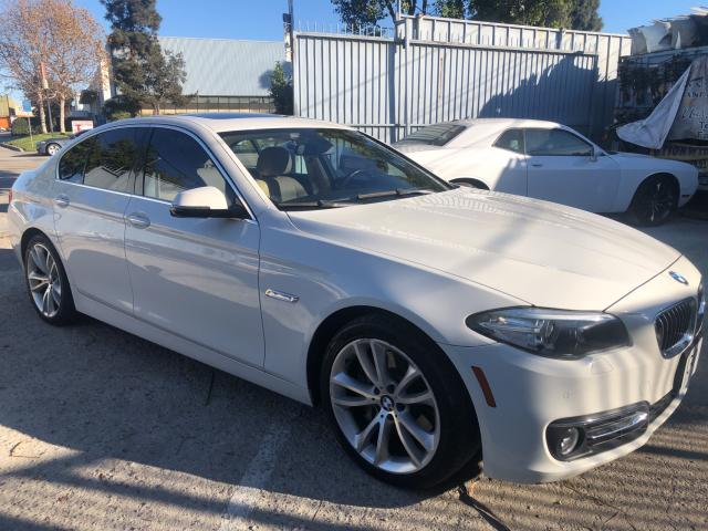 Salvage cars for sale from Copart Wilmington, CA: 2014 BMW 535 I