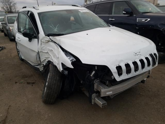 Salvage cars for sale from Copart Chicago Heights, IL: 2019 Jeep Cherokee L