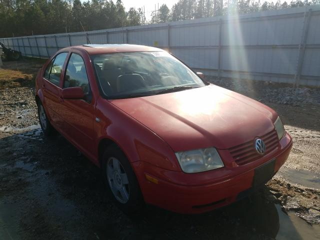 Salvage cars for sale from Copart Charles City, VA: 2002 Volkswagen Jetta