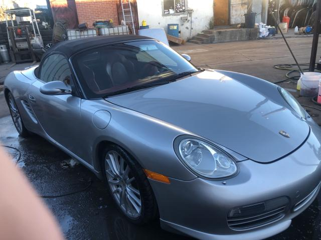 Salvage cars for sale from Copart Wilmington, CA: 2008 Porsche Boxster S
