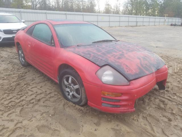 Salvage cars for sale from Copart Gaston, SC: 2002 Mitsubishi Eclipse GS