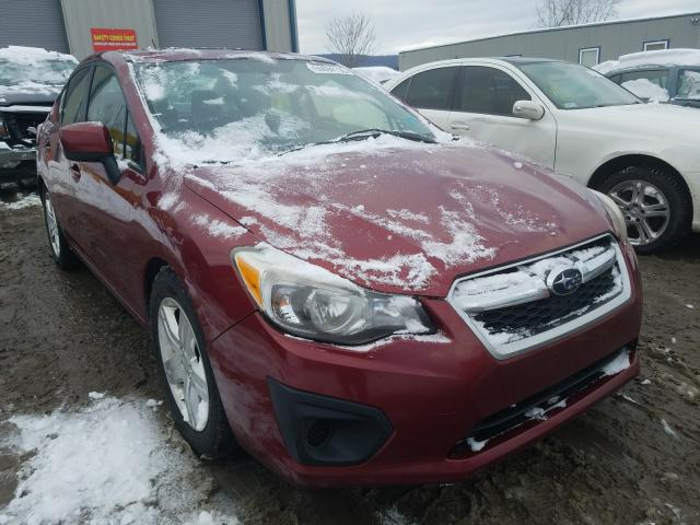 Salvage cars for sale from Copart Duryea, PA: 2013 Subaru Impreza PR