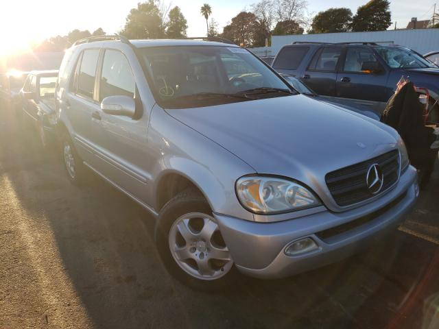 Salvage cars for sale from Copart Vallejo, CA: 2002 Mercedes-Benz ML 320