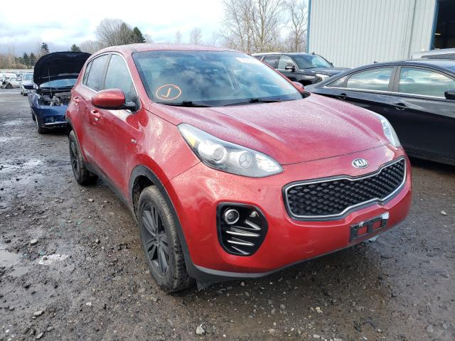 Salvage cars for sale from Copart Portland, OR: 2018 KIA Sportage L