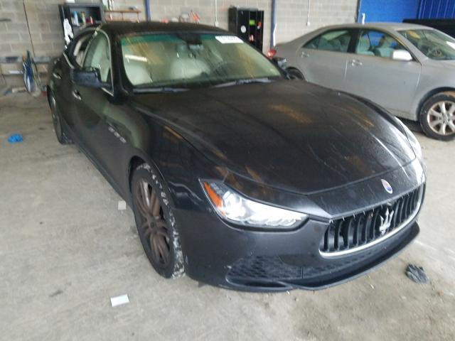 Salvage cars for sale from Copart Cartersville, GA: 2014 Maserati Ghibli