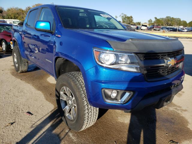 Salvage cars for sale from Copart Riverview, FL: 2018 Chevrolet Colorado Z