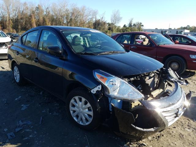 Salvage cars for sale from Copart Tifton, GA: 2019 Nissan Versa S