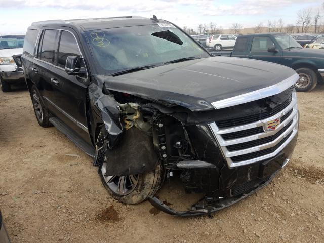 Cadillac salvage cars for sale: 2015 Cadillac Escalade L