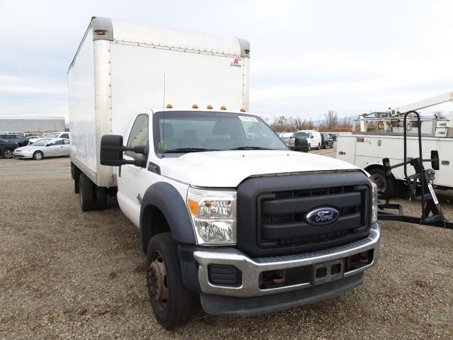 Salvage cars for sale from Copart Anderson, CA: 2013 Ford F550 Super