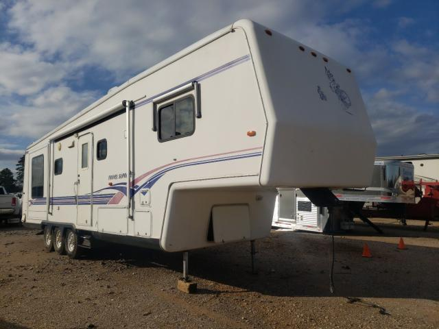 Trailers salvage cars for sale: 1999 Trailers 5th Wheel