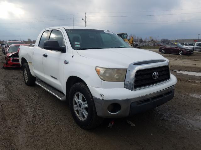 Salvage cars for sale from Copart Indianapolis, IN: 2008 Toyota Tundra DOU