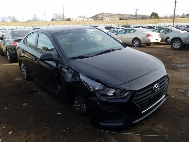 Hyundai salvage cars for sale: 2018 Hyundai Accent SE