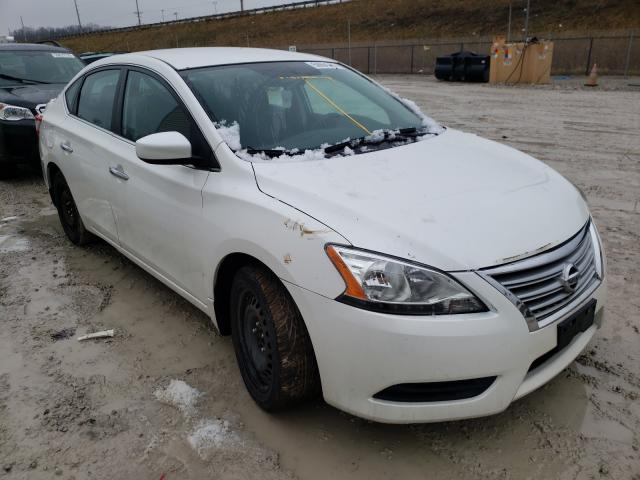 Salvage cars for sale from Copart Northfield, OH: 2014 Nissan Sentra S