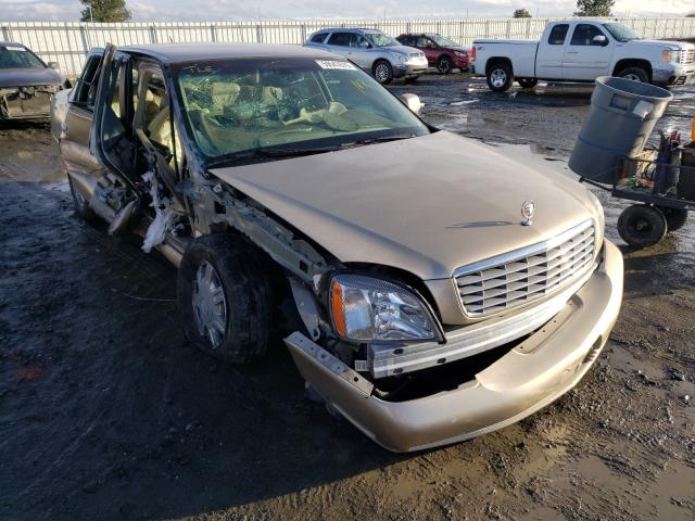 Salvage cars for sale from Copart Airway Heights, WA: 2005 Cadillac Deville