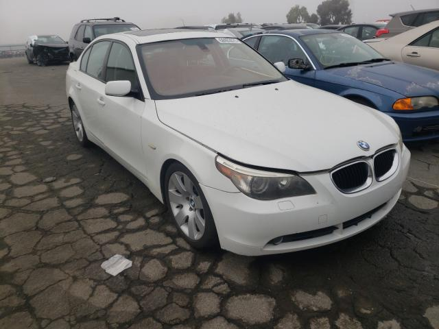 Salvage cars for sale from Copart Martinez, CA: 2005 BMW 530 I