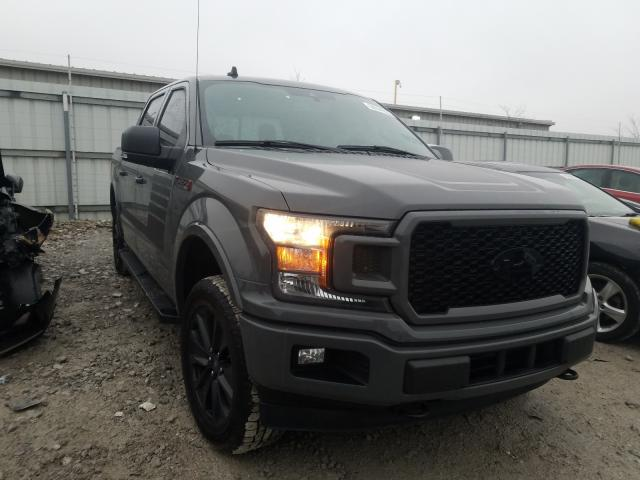 Salvage cars for sale from Copart Walton, KY: 2020 Ford F150 Super