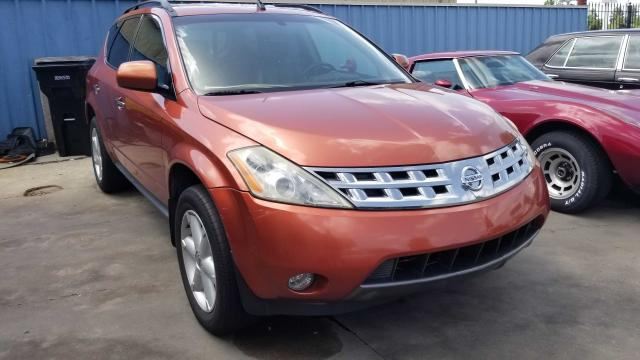 Salvage cars for sale from Copart New Orleans, LA: 2005 Nissan Murano SL