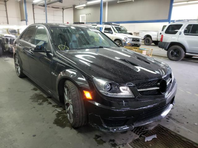 Salvage cars for sale from Copart Pasco, WA: 2014 Mercedes-Benz C 63 AMG