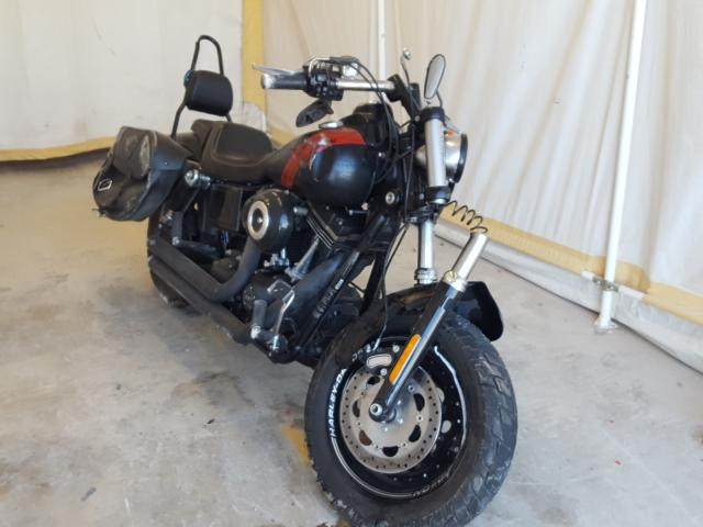 Salvage cars for sale from Copart San Antonio, TX: 2014 Harley-Davidson Fxdf Dyna