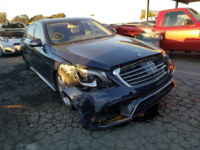 Salvage cars for sale from Copart Hayward, CA: 2014 Mercedes-Benz S 550