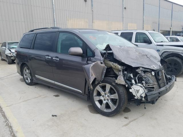 Salvage cars for sale from Copart Lawrenceburg, KY: 2013 Toyota Sienna Sport
