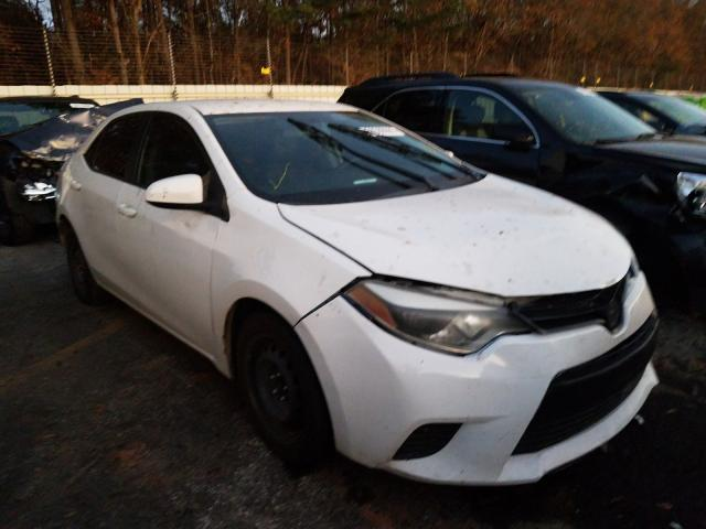 Salvage cars for sale from Copart Cartersville, GA: 2014 Toyota Corolla L