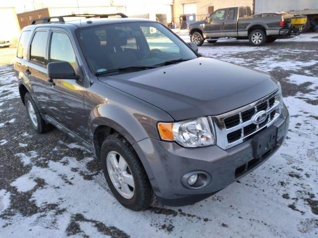 Salvage cars for sale from Copart Courtice, ON: 2012 Ford Escape XLT