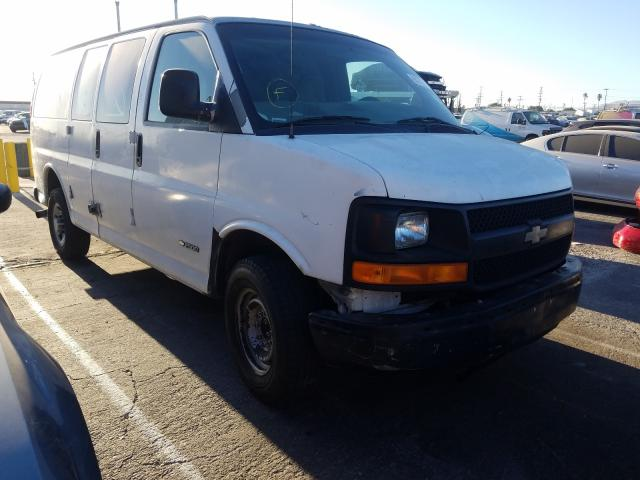Salvage cars for sale from Copart Sun Valley, CA: 2006 Chevrolet Express G2