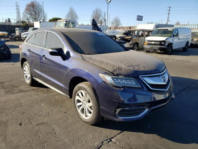 Salvage cars for sale from Copart Wilmington, CA: 2016 Acura RDX Techno