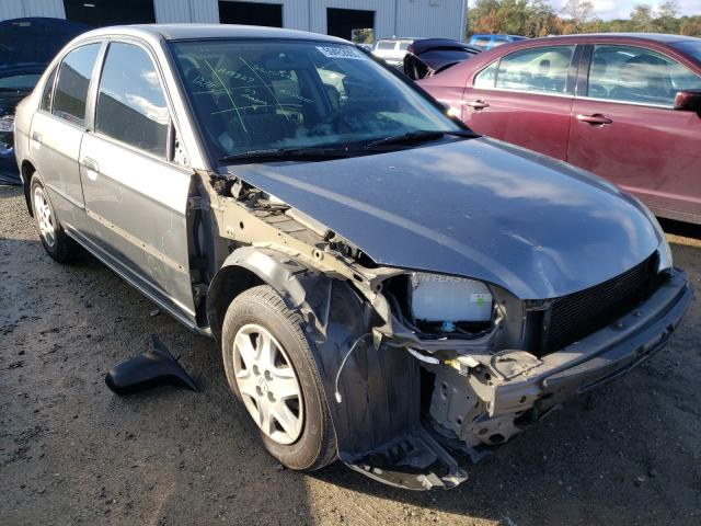 Honda Civic DX salvage cars for sale: 2005 Honda Civic DX