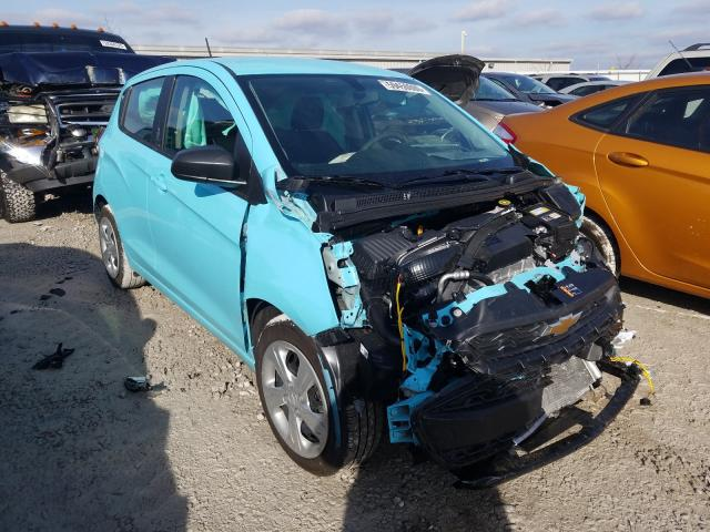 Salvage cars for sale from Copart Walton, KY: 2021 Chevrolet Spark LS