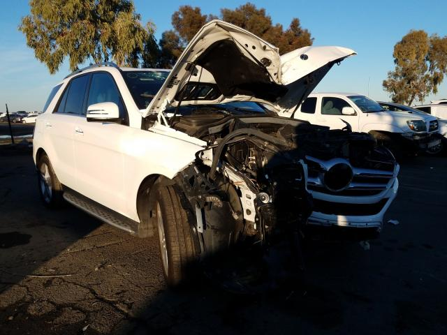Salvage cars for sale from Copart Martinez, CA: 2018 Mercedes-Benz GLE 350