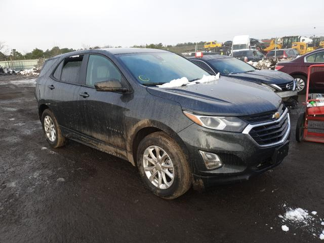 Salvage cars for sale at Brookhaven, NY auction: 2020 Chevrolet Equinox LS