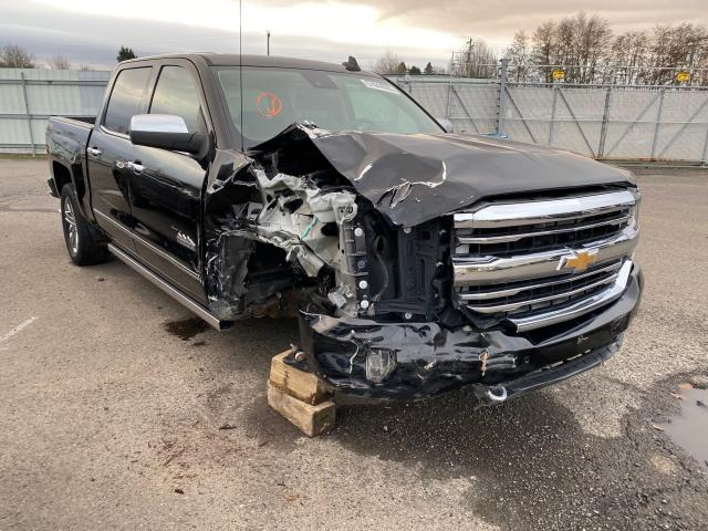 Salvage cars for sale from Copart Portland, OR: 2017 Chevrolet Silverado